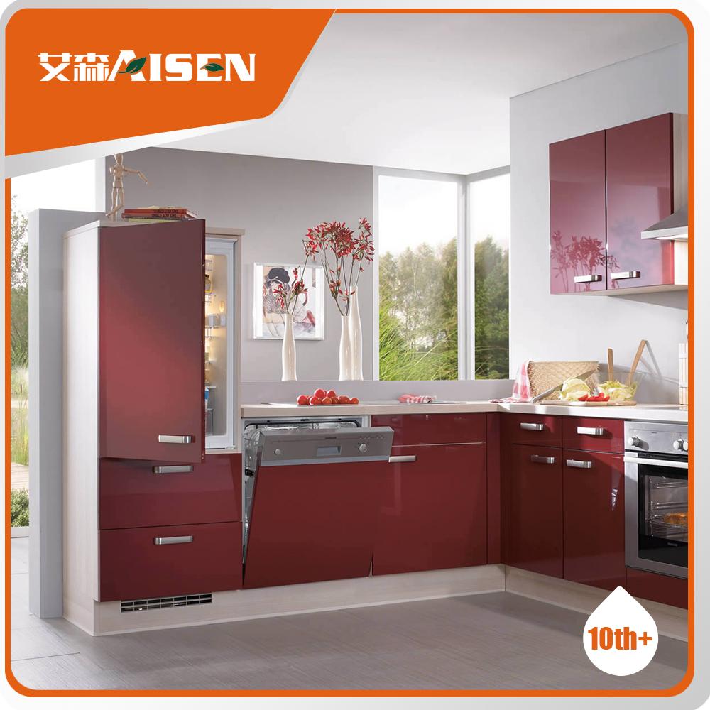 Geavanceerde machines duitsland modulaire houten keuken kast ...