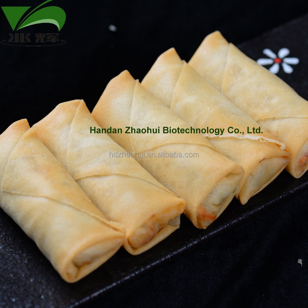 ZHAOHUI Factory Frozen Vegetable IQF Fried Spring Rolls