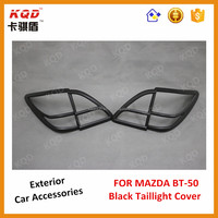 Hot new products for 2015 matte black rear light covers bt50 2012 mazda bt-50 car accessories for mazda