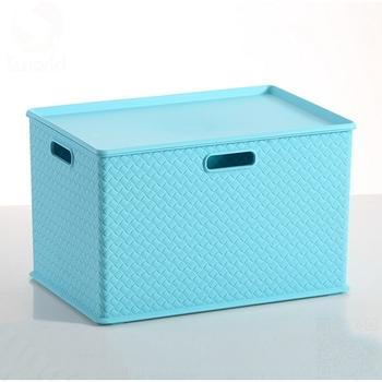 Custom Plastic Storage Box, Home Decorative Multipurpose Storage Box With  Lid