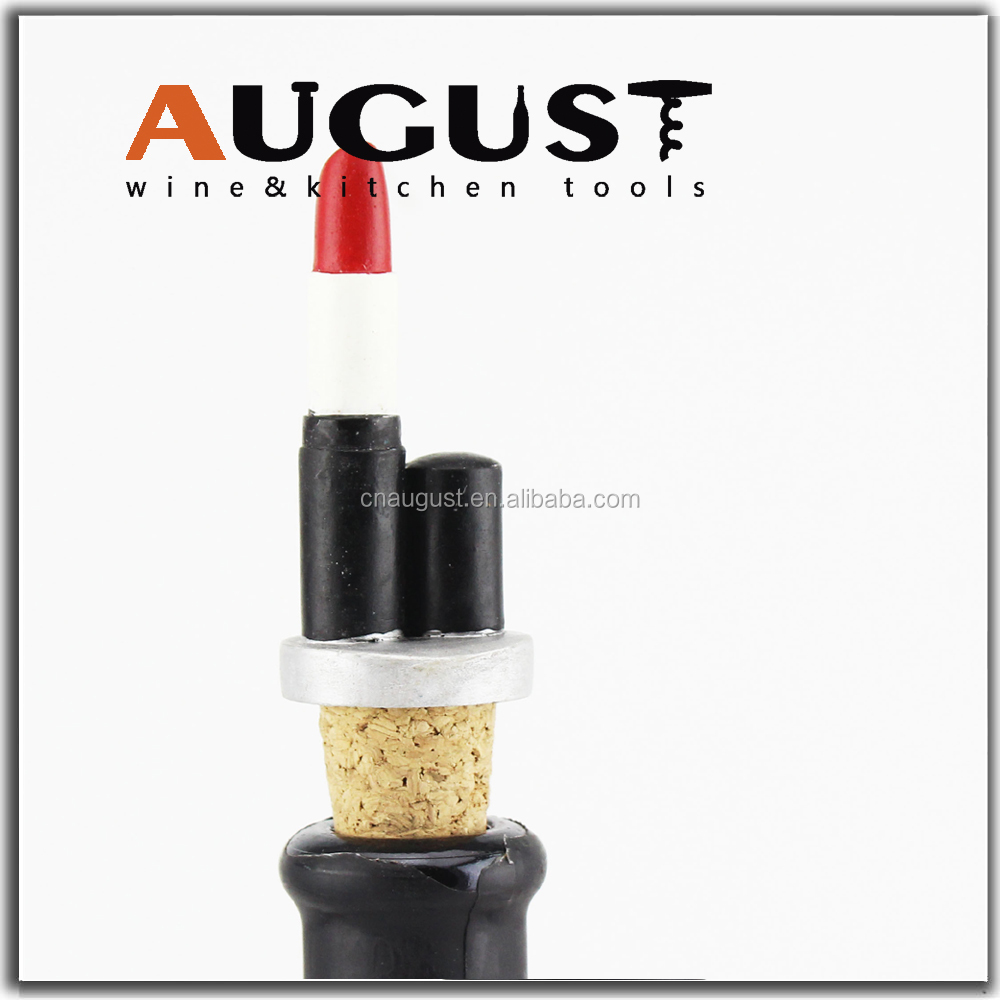 August WS-106 Bulk Used Engraved Colored Wine Corks