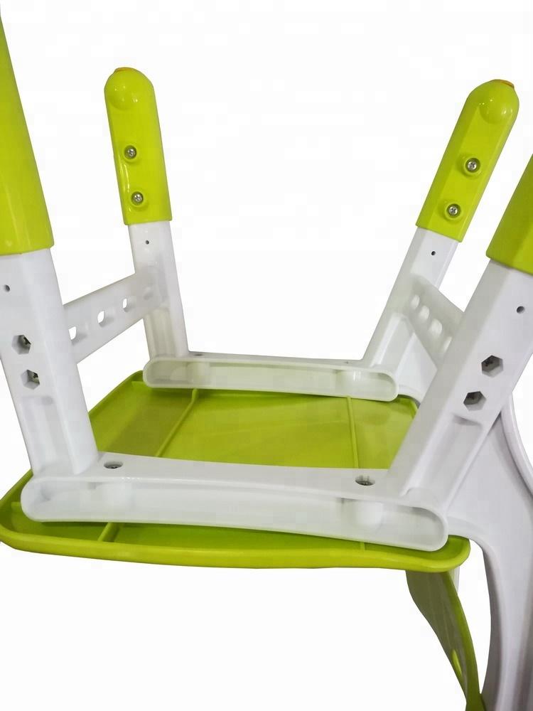 Nursery furniture adjustable Height 26/28/30cm plastic material kids Children desk Kindergarten preschool Chair