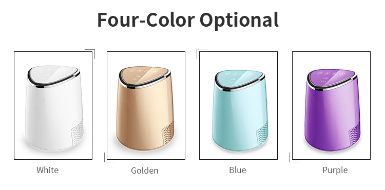 Tabletop mini air purifier