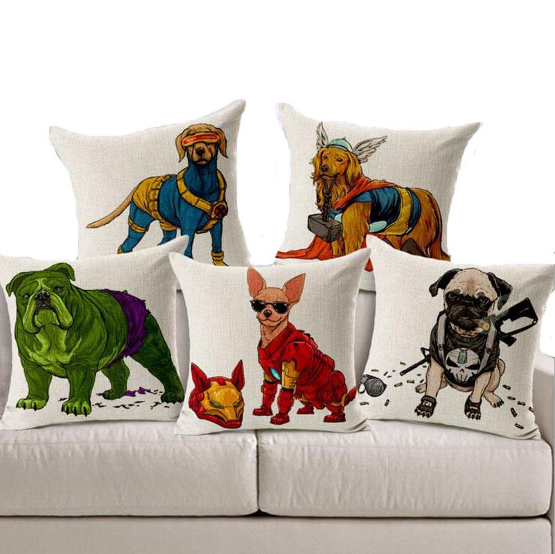 chien taie d 39 oreiller promotion achetez des chien taie d 39 oreiller promotionnels sur aliexpress. Black Bedroom Furniture Sets. Home Design Ideas