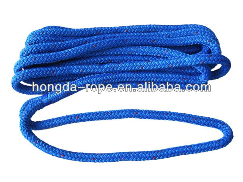14mm trenzado doble cuerda de nylon azul marino cuerda de - Cuerda de nylon ...