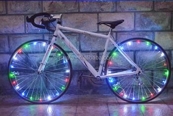 Licht In Fietswiel : Led flash string licht kleurrijke fietswiel lamp fiets strip licht