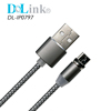 2019 Newest Design Quick charger 3 in 1 Nylon Braided Magnetic USB type C Charging Cable