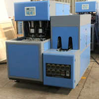 semi auto small extrusion blow moulding machine Germany quality made in China