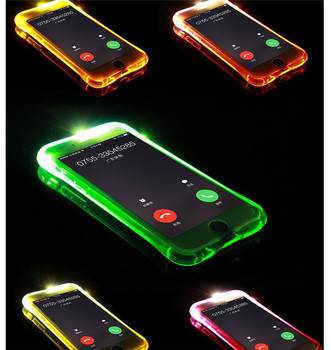 best website 08792 33c8a For Iphone Led Case With Led Light Incoming Telegram Tpu Cell Phone For  Iphone 6s 7 Iphone8 Plus Iphonex - Buy Led Case,Led Light Demo Case,Led  Case ...