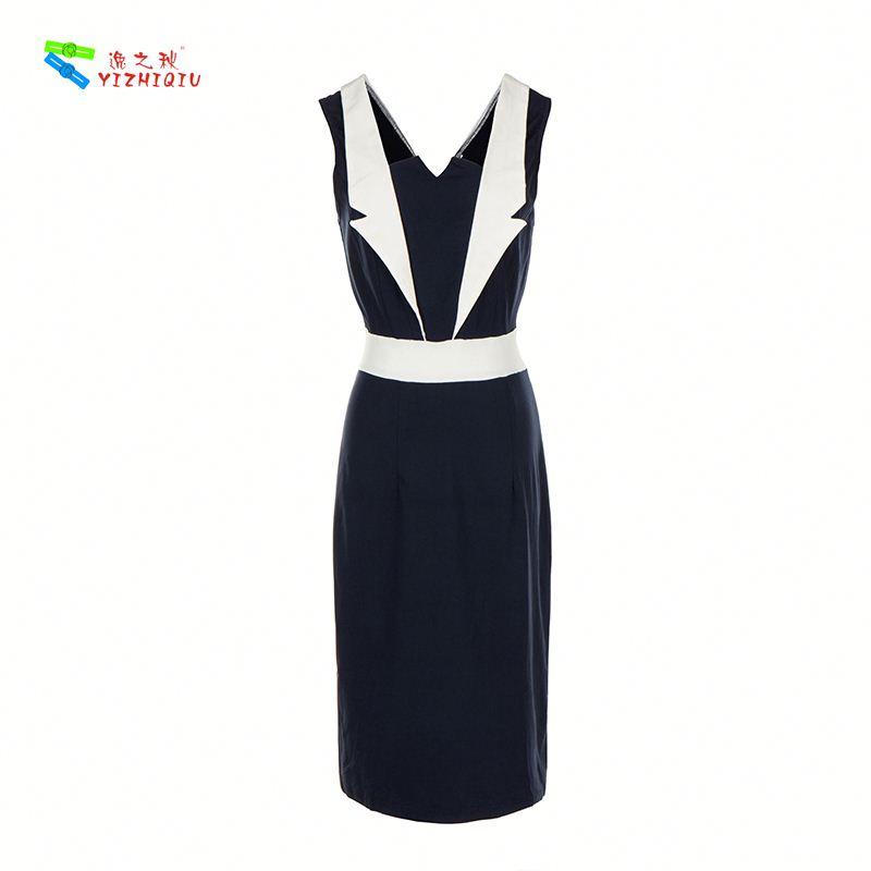 YIZHIQIU retro dress dress big size women summer dress