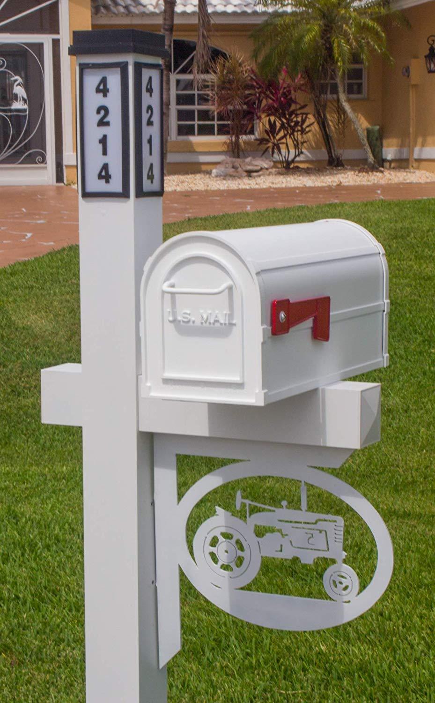 BrightLight Custom Aluminum Tractor Mailbox Bracket