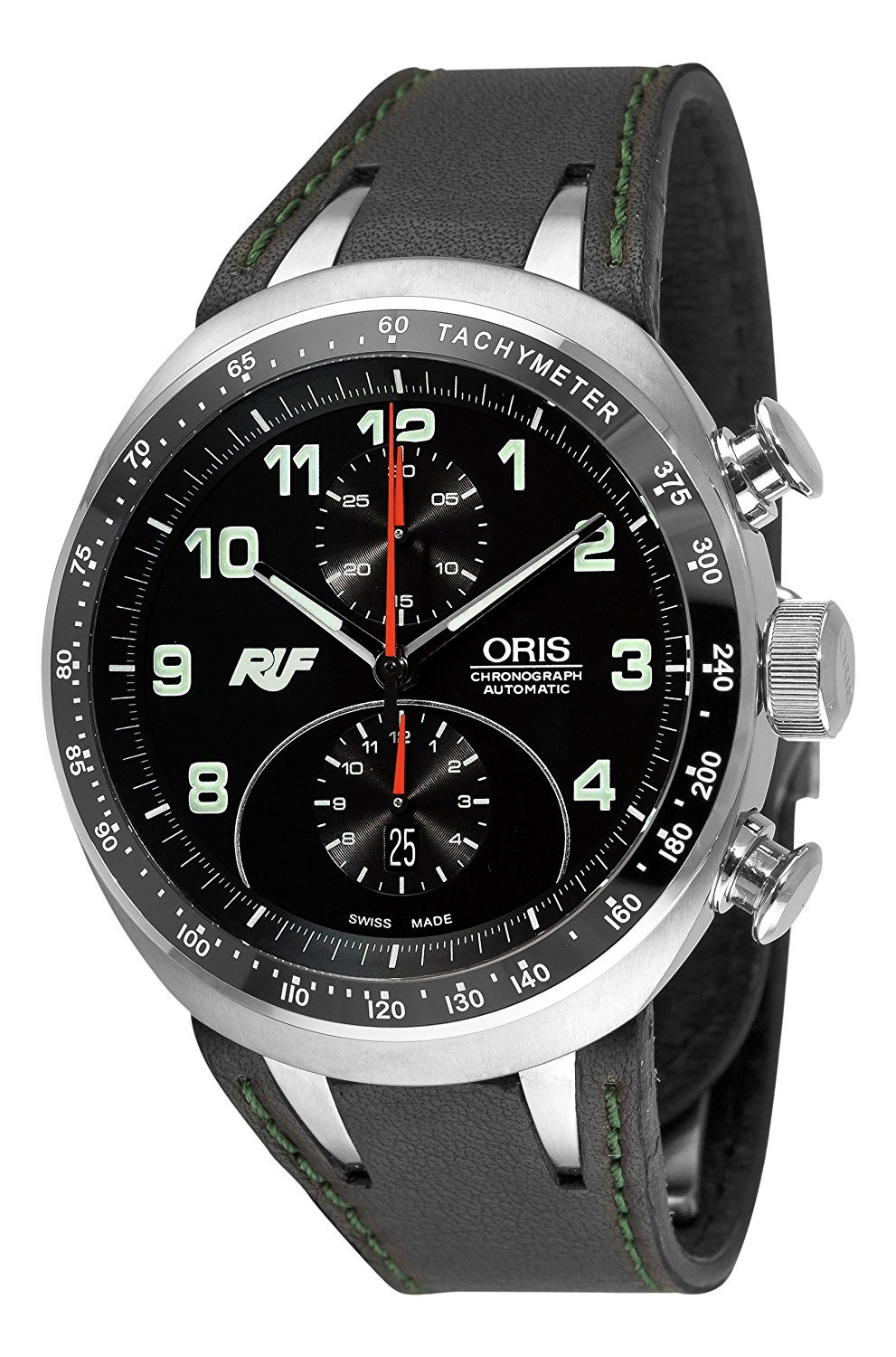3224c31843b Oris Men s 67376117084LS Ruf CTR3 Chronograph Limited Edition Black Dial  Watch