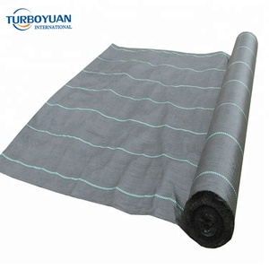 China supplier anti weed mat weed control mat pp woven fabric plastic weed barrier