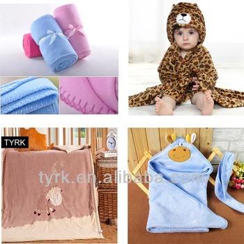 100% Polyester Polarfleece Baby Häkeln Empfang Decke Lager - Buy ...