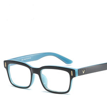 VIPEYE, фирменный дизайн, женские и мужские очки для глаз, оправа, Ретро стиль, прозрачное зеркало, украшение, очки, PC, квадратные очки для близор...(Китай)