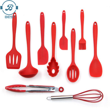 Silicone Kitchen Utensil Set Silicone Products In Home And Kitchen Silicone Cooking Utensils Set