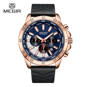 High Quality OEM Custom Logo Quartz Sport Men Watch Rose Gold Wrist Watch
