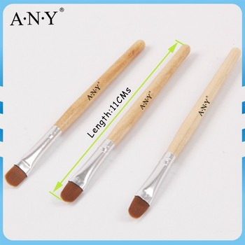 Any French Nails Design Nail Art Painting Wood Handle Uv Gel Oval Nylon Brush