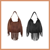 2016 Factory New Style Shoulder Bag Fashion Ladies Handbag Fringe Tassel Pu Leather Bag