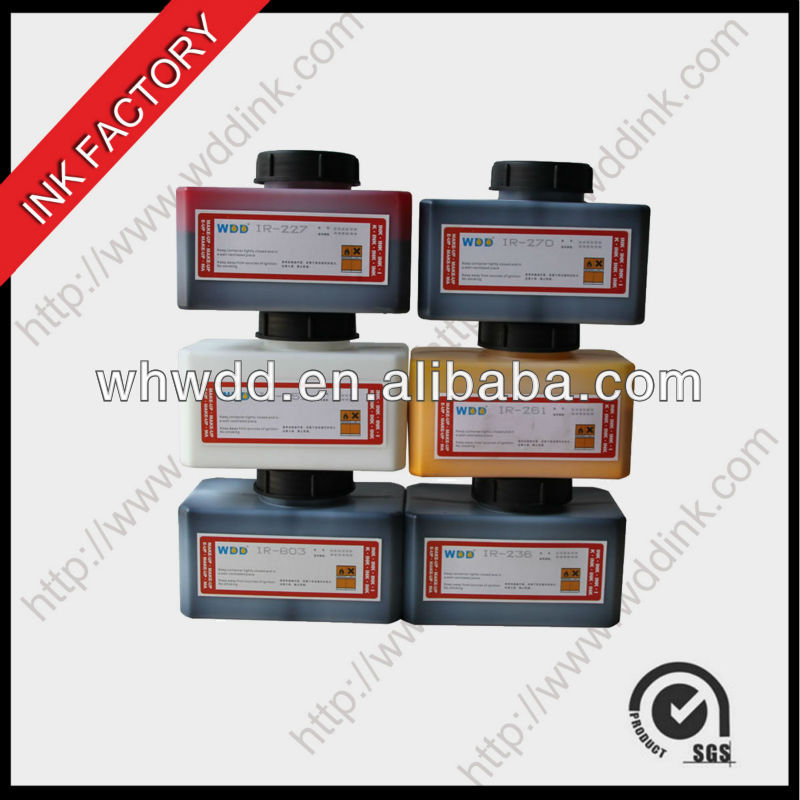 Domino CIJ Inks 825ML/1200ML For Domino A200/A300/A400 Printer