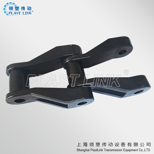 NH78 chain Plastic Flexible slat Conveyor Non metal drive chain plastic chain price
