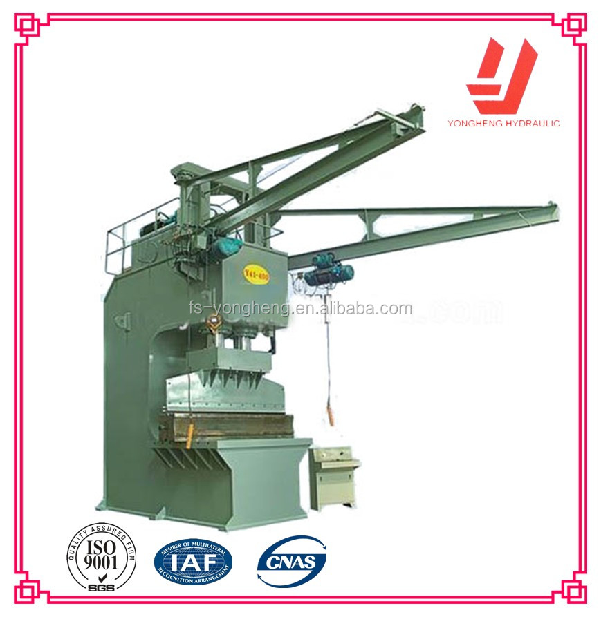 C frame Hydraulic Cutting Press Machine For Metal Parts