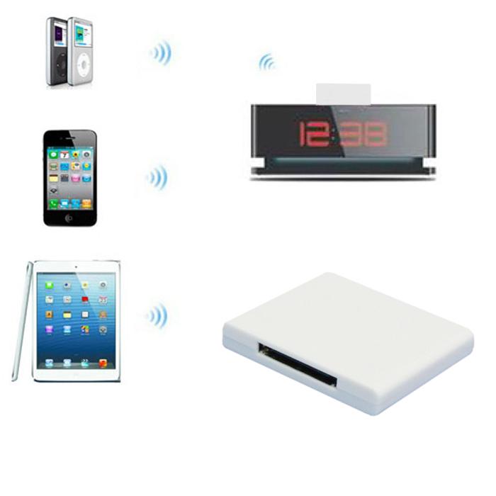 Новый Bluetooth A2DP аудио музыка приемник переходник для iPhone iPod 30 контакт. для док-спикер Toness