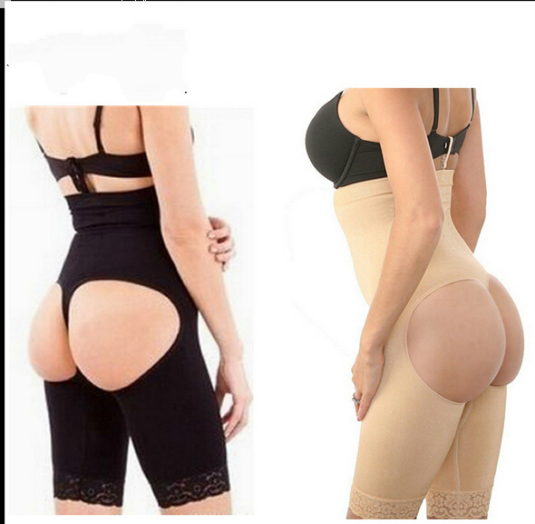 f705db9737 Get Quotations · High Waist Lace Booty Tummy Butt Lifter shaper Panties  booty lifter SHAPEWEAR Shaper Panty Tummy Control