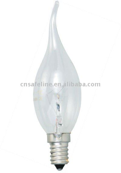 Fire Flame incandescent bulb