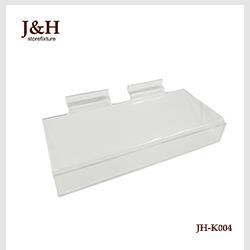 J & H Storefixture 아크릴 플라스틱 24.8 센치메터 * 10.5 센치메터 * 0.23 센치메터 Slatwall 화 디스플레이 선반 대 한 소매 store