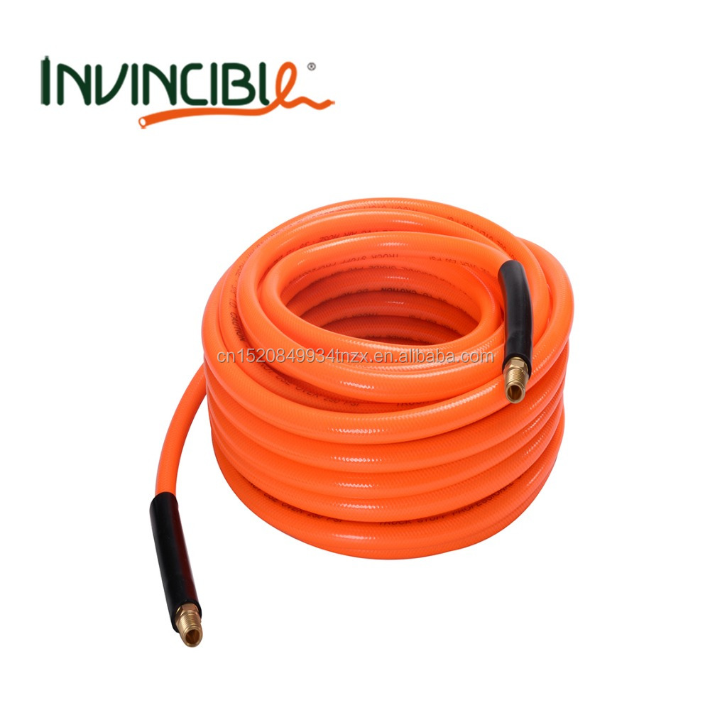 "W.P. 300 psi pvc air hose I.D. 3/8"" x 15.5mm Length 10meters CE Flexible Pvc Air Compressor Pipes and Hose"