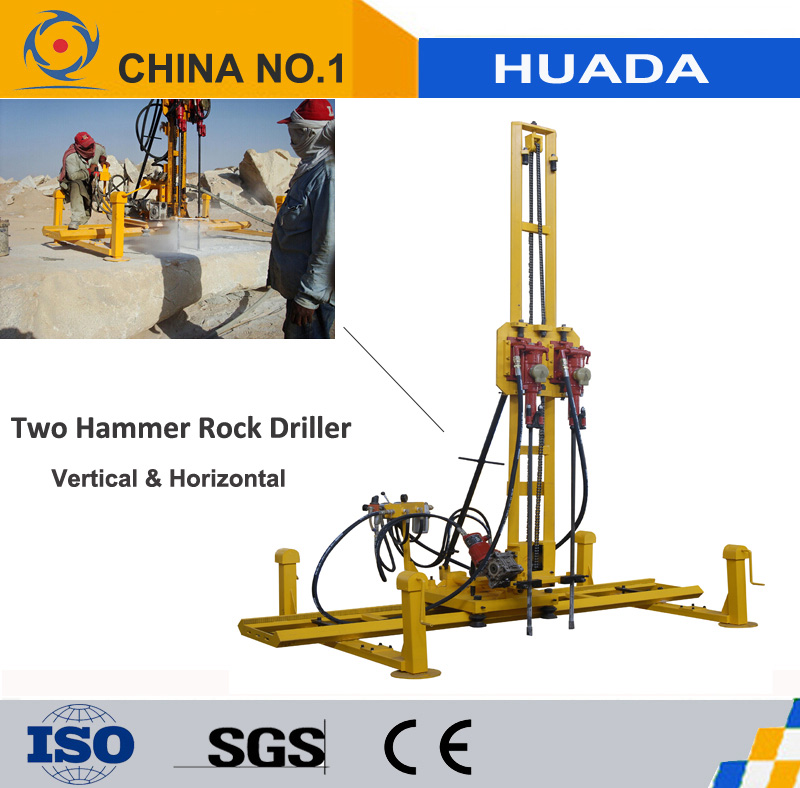Rock Drill for Vertical and horizontal Drilling