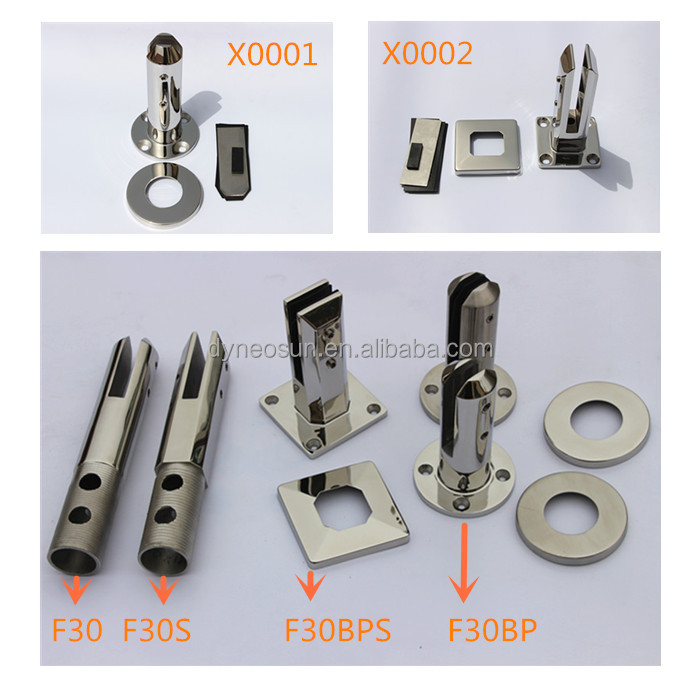 Dongying Shandong hardware 2205 stainless steel pool fence glass spigot