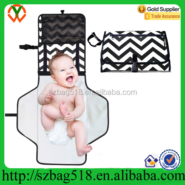 2016 Contoured Travel Infant Baby Diaper Portable Changing Pad Mat for mom