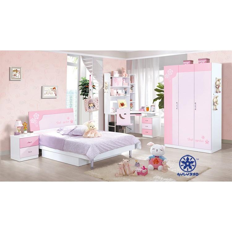 kinderen slaapkamer meubilair set goedkope meisjes bed/slaapkamer, Deco ideeën