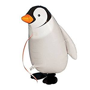 SODIAL(R)Walking Pet Balloon Animal Airwalker Foil Balloon Helium Kids Children Fun Party Decors Penguin