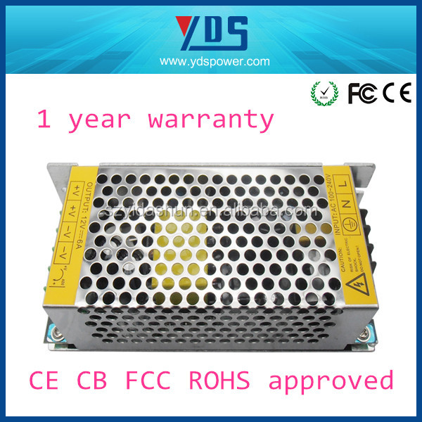 best web to buy china , ac power supply , 220v ac to dc converter power supply for led cctv camera 12v 6a 72w