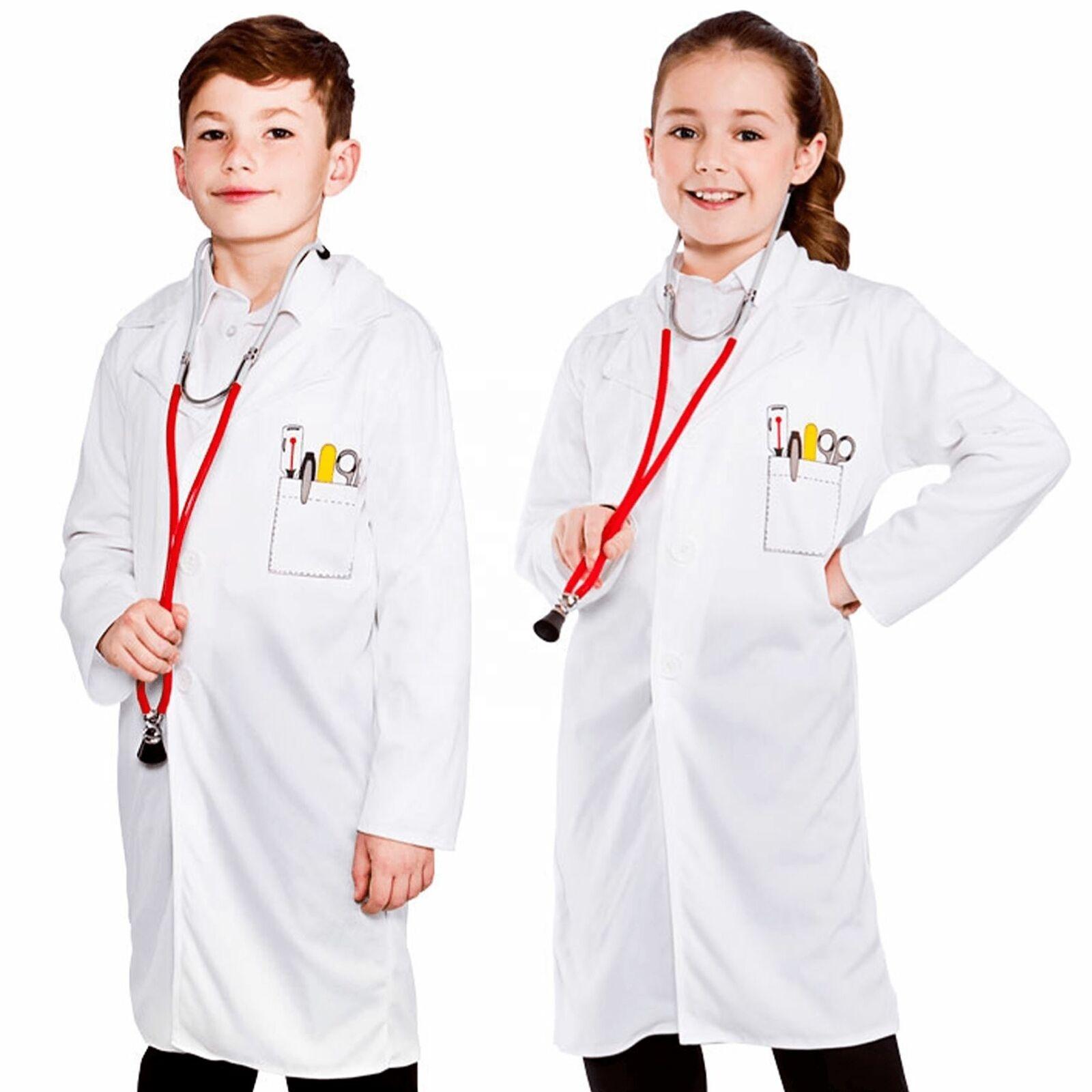 Dr Lab Coat Costume Halloween Fancy Dress