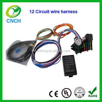 fuse box 12 circuit universal wire harness kits muscle car hot rod rh alibaba com Universal Studios Hollywood Universl Studios