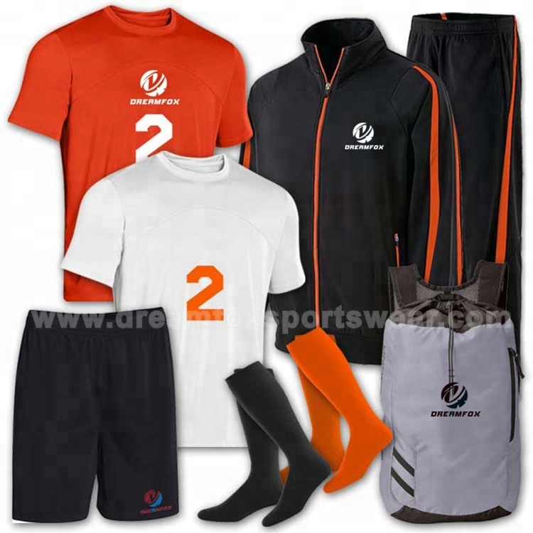 a6d033495e7 Best quality custom soccer jerseys set soccer jacket soccer jersey socks