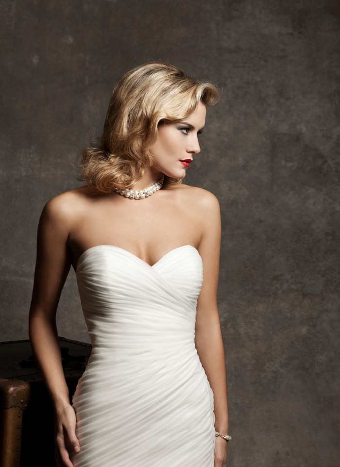 Ruched Strapless Dress Pattern