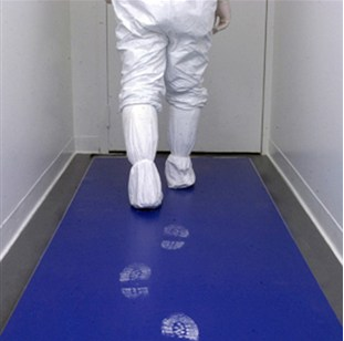 Low Density Polyethylene Disposable Sticky Mat ESD Cleanroom Sticky Mat