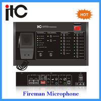 VA-6000FM Digital Fireman Microphone Addressable Fire Alarm Control Panel