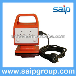 High quality portable AC outlet plug with wire (4 gang)