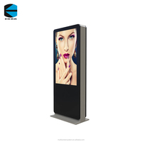 EKAA 43 inch outdoor digital sigange high brightness lcd monitor for advertising display