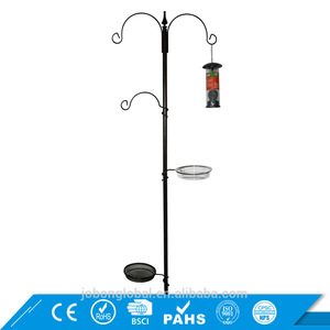 Cheap And Fine Iron hanging metal bird feeding station