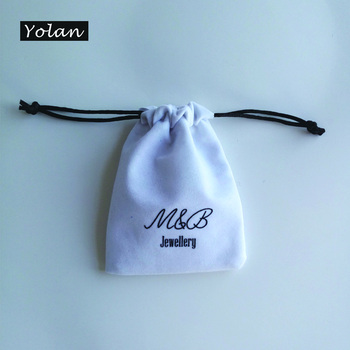Fashion velvet bag for jewelry Packaging