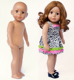 Custom lol 18 inch american girl doll with beautiful outfit wholesale