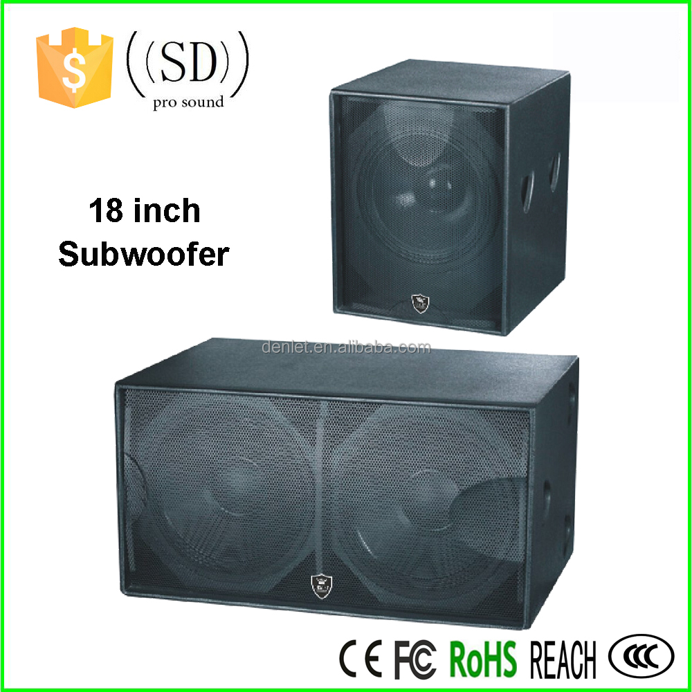 18 Inch Subwoofer Box Design Big Bass Subwoofer Speakers Stage ...