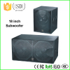 18 inch subwoofer box design big bass subwoofer speakers stage loudspeaker guangdong